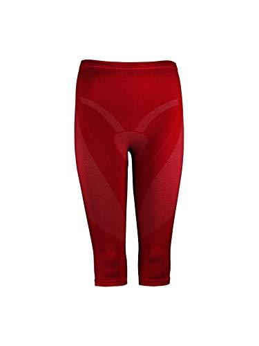 TAO Sportswear Damen Funktions Unterwäsche halblange Hose W´s Aridus Knee Tights Force red 44