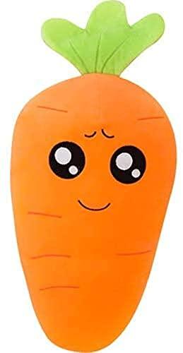 GKLHC 50 cm de Juguete de Zanahoria Juguete Suave Juguetes de Peluche Juguetes de Almohada la Almohada de la Zanahoria Encantadora (Naranja)