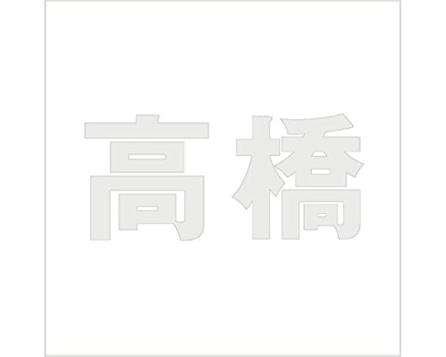 右累積ファイター切文字 カッティングシート ゴシック文字 ???????? 100×100mm表札板用 高橋 オーダーメイド 納期8営業日