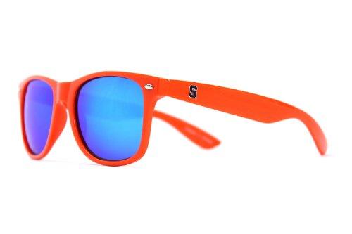 NCAA Syracuse Orange SYR-1 Orange Frame, Blue Lenses Sunglasses, One Size, Orange