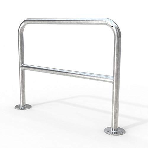 Fahrradständer Fahrrad Anlehnbügel 9221 1200mm zum Aufdübeln