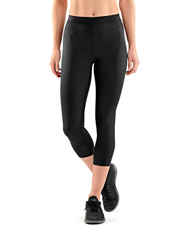 SKINS Dnamic 7/8 Collant pour Femme XS, S, M, L ou XL Noir/Noir