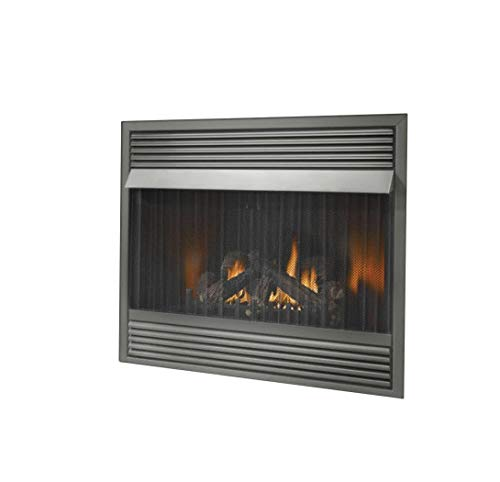 Napoleon GVF36 30,000 BTU Vent Free Zero Clearance Gas Fireplace, Natural Gas