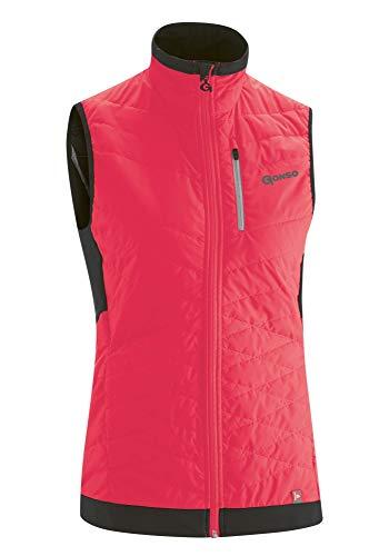 Gonso W Glandonna Pink, Damen Primaloft Winddichte Weste, Größe 36 - Farbe Diva Pink