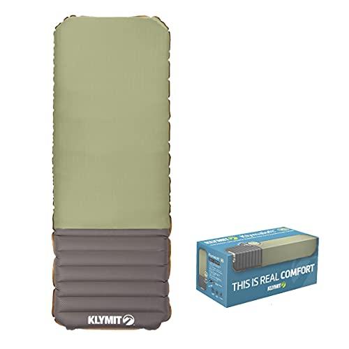 KLYMIT KLYMALOFT Sleeping Pad, Revolutionary Air + Foam design, Lofted Memory Foam Comfort, Camping, Travel, Backpacking, Upgrade your Air Mattress