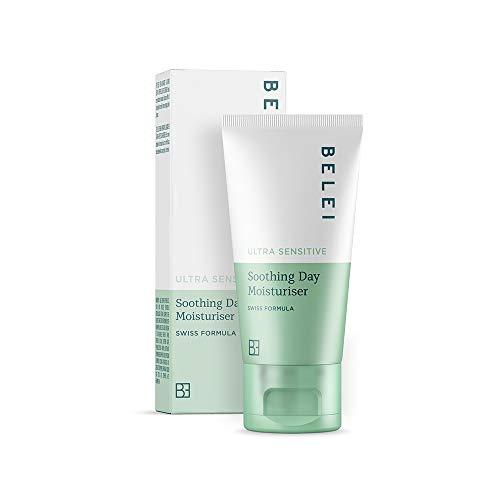 Marca Amazon - Belei Crema hidratante calmante de día para pieles ultrasensibles, 50ml