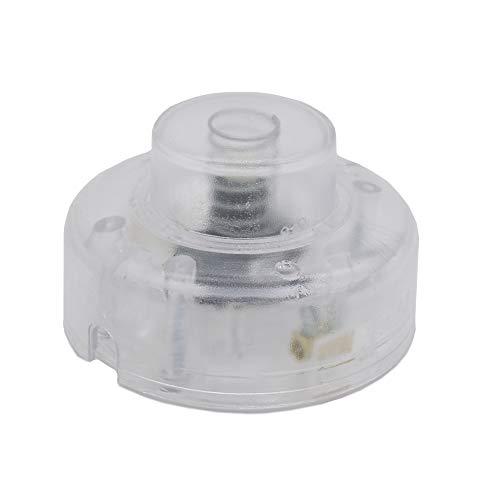 Interruptor de pie transparente para cables 2G y 3G de encendido y apagado