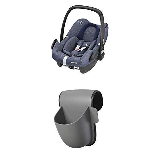 Maxi-Cosi RodiFix AirProtect (AP), Autokindersitz Gruppe 2/3 (ab 3,5 Jahre bis circa 12 Jahre), nomad grey (grau), mit Isofix + Pocket Becherhalter, grau