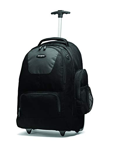 Price comparison product image Samsonite Wheeled Backpack with Organizational Pockets,  Black / Charcoal,  One Size