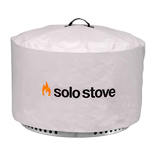 Solo Stove Yukon Protective Fire Pit Cover Round Fire Place Waterproof Shelter Great Camping and Fire Pit Accessories for Fire Pits