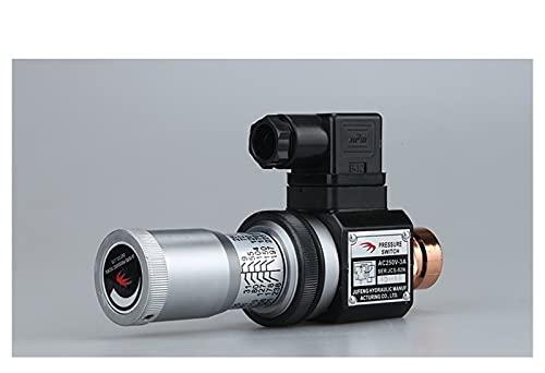 JIANGFBH Relé 1 UNIDS Interruptor de presión hidráulica JCS-02H JCS-02N JCS-02NL JCS-02NLL Relé (Color : JCS 02NL)