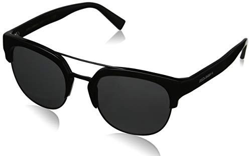 Dolce & Gabbana heren 0DG4317 501/87 53 zonnebril, zwart (zwart/grijs),