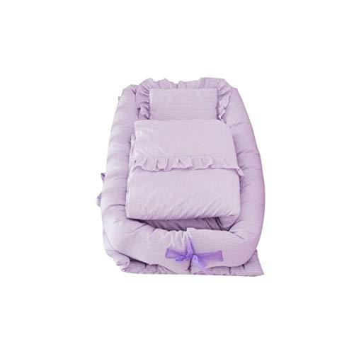 ASDFGH Portable bébé Lit bébé moïses Lit bébé Chaise Longue for Lit Respirant Sommeil Nouveau-nés Nest (Color : A5)