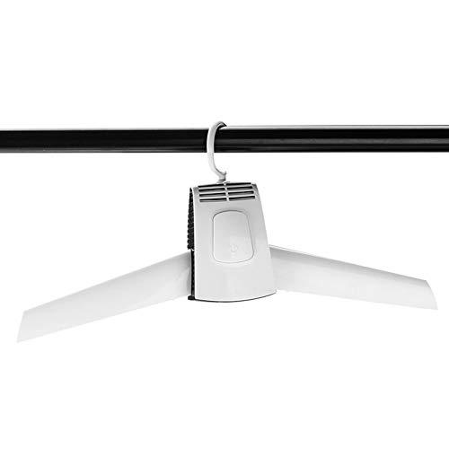 LOVE-HOME Ropa Portátil Secado Percha, Secadora Eléctrica Plegable con Tubo Telescópico De Extensión del Zapato, Estante Inteligente Percha para El Recorrido Sitio del Dormitorio