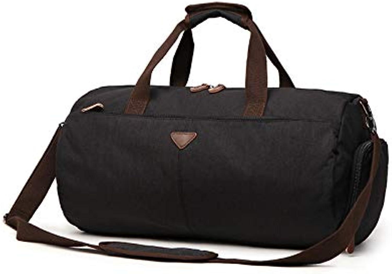 Huafengsc Reisetasche Mode Handtasche   Reisetasche   Mode Handtasche   gepäcktasche lässige größe, schwarz groß B07PQKLRNY
