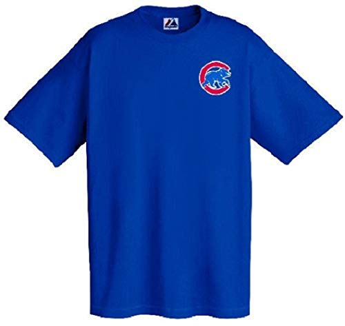 Chicago Cubs MLB Officially Licensed Majestic Major League Baseball Replica T-Shirt Jersey