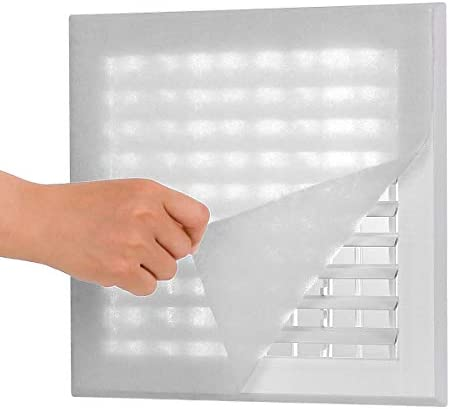 Lisol Complete Air Vent Filters Kit 98 x 18 Electrostatic Media With 157 of Installation Tape product image