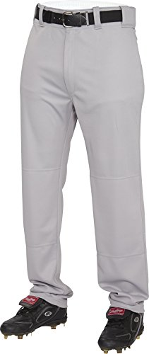 Rawlings Men's Semi-Relaxed Pants, Medium, Blue/Grey