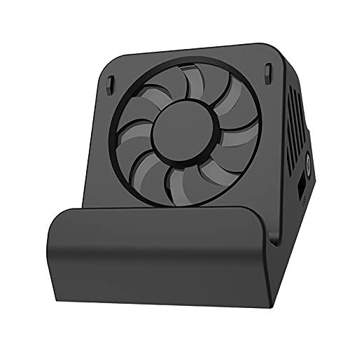 B Blesiya Adaptador convertidor de Video HDMI Tipo C portátil USB Soporte de Base de Carga + Ventilador de enfriamiento para Nintend Switch / Switch Lite