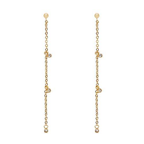 Parfois - Pendiente Stainless Steel Golden - Mujeres - Tallas Única - Dorado