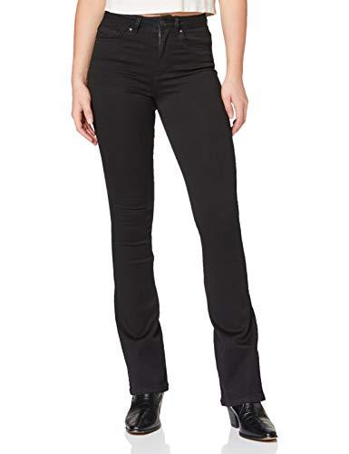 ONLY Damen Onlroyal High Sweet 600 Noos Flared Jeans, Schwarz (Black Black), 33W 34L EU