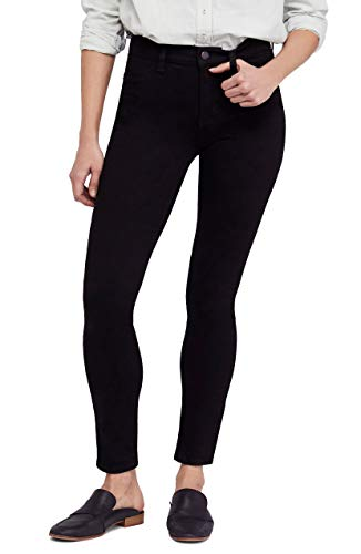 Free People Long and Lean Jeans in Black Black 26