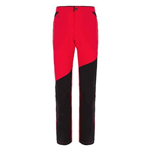 Trangoworld Buron Pant. Long, Homme M Rouge/Noir