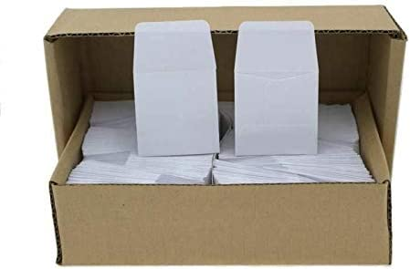 Fort Worth Mall Guardhouse 2x2 Archival Paper Coin White Envelopes 500 Wholesale pk