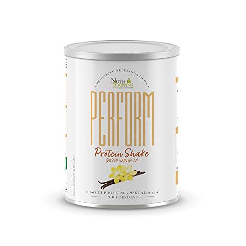 Perform Protein Shake, Shake Proteico Gusto Vaniglia, Proteine in Polvere - 540 g