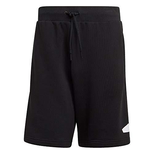 adidas Herren Badge of Sport Shorts, Black, XL