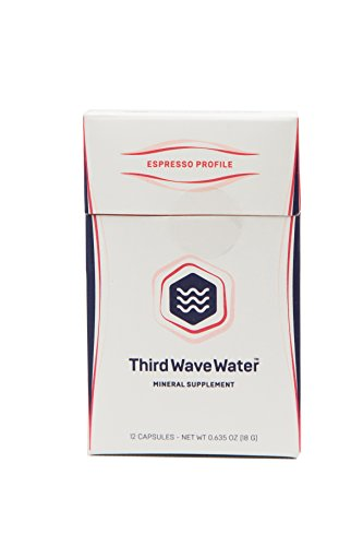 Third Wave Water Mineral Enhanced Flavor Optimizing Coffee Brewing Water, Espresso Profile, 0.635 oz