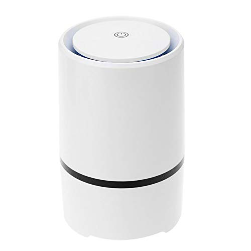 Luchtreiniger Voor Thuis Met Echte HEPA-Filters, Desktop USB-Luchtfilter, Draagbare Luchtgeluidsverfrisser Met Laag Geluidsniveau Verwijder Stof, Pollen, Rook, Geuren