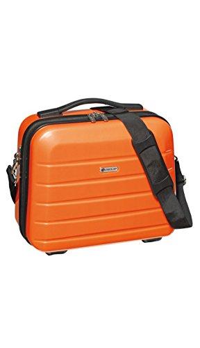 Tops Kosmetikkoffer 14 L 33x30x16 cm Beauty Case London 2.0 Schminkkoffer Farbwahl (Orange)