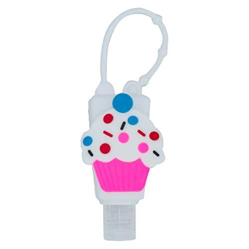 Botellas de Viaje Portátiles para niños, Dispensadores vacíos de 30 mL para Rellenar Desinfectantes de Manos, Champús, Accesorio de Viaje para Niños – (Crema, 1 PC)