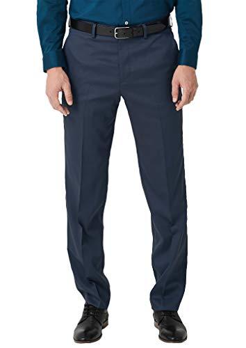 s.Oliver BLACK LABEL Herren 02.899.73.5419 Anzughose, Blau (Blue Dobby 55k4), W(Herstellergröße: 44)