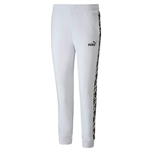 Puma Amplified Tr Cl Pantaloni Tuta, Donna, White, L