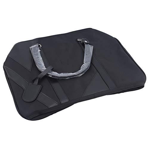 Kaned - Borsone Sportivo con Tasca per Scarpe, da Viaggio, Portatile, Impermeabile, Tromba Nera, 42 * 20 * 25cm