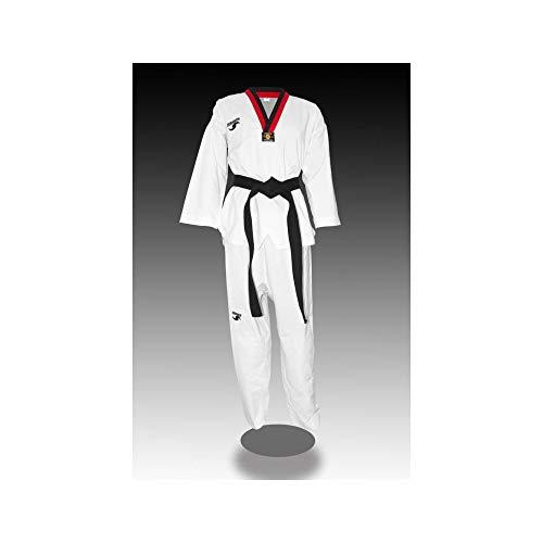 Dorawon, Dobok Taekwondo Bordado Fight Talla 160 cm, Cuello poom