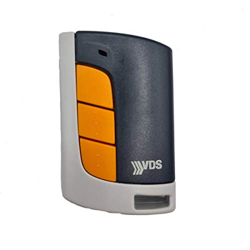 VDS Eco R Garagen-Fernbedienung, 433 MHz, 5 Kanäle, Evolutivcode, kompatibel mit Garagentoren, VDS-Motoren