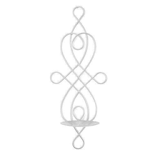 Chakil Kerzenhalter Kerzenhalter Kerzenhalter Kerzenhalter Kerzenleuchter Wandhalter für Teelicht Herz Kreative Teelichthalter Wandkerzen Schwarz Neujahr Geschenk 1