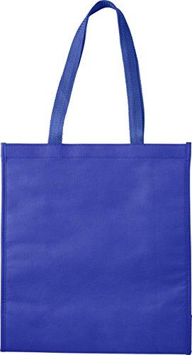 Preiswert&Gut Kühltasche Groß Einkaufstasche 40x36x15cm Isoliertasche 82 Gramm Stoffbeutel (Kobaltblau)