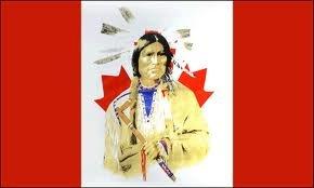 Canadien Drapeau Canada - 5 'x3'Rouge indien