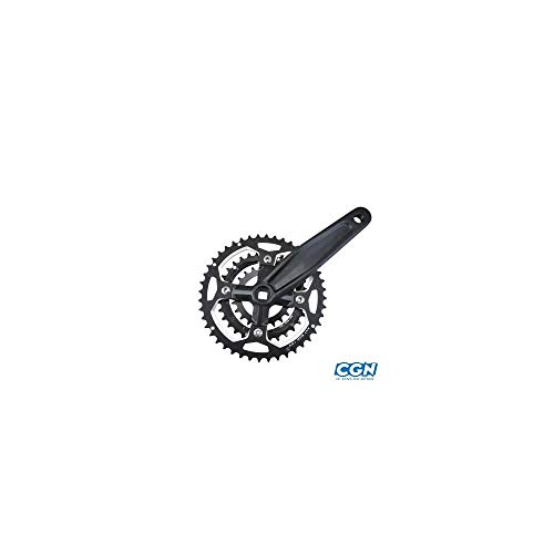 Motodak Pedalier Bicicleta de Montaña Triple 44-32-22d l170 Alu Lasco Tipo Deore ( Eje Cuadrado 110)