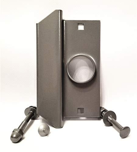 Universal Storefront Latch Guard | Commercial Door Security | Door Security for Businesses | TUFF STRIKE | Aluminum