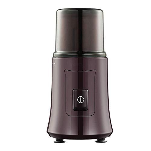 JUUY Molinillo de café eléctrico, Amoladora de café y Especia Desmontable de 200W, Molinillo automático de café con tazón extraíble, Molinillo de café Compacto de Acero Inoxidable
