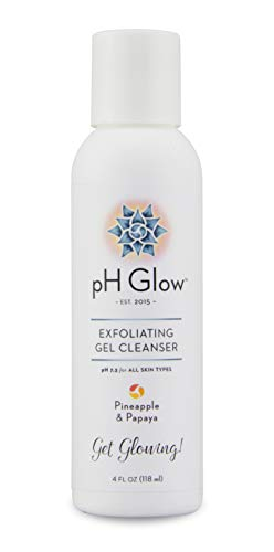 Daily Exfoliating and Brightening Face Wash. 100% Pure Natural Enzymes Exfoliate and Brighten for Your Best Face. Anti Aging, pH Balanced, Facial Cleanser. Fragrance Free, No paraben/SLS or Phthalates