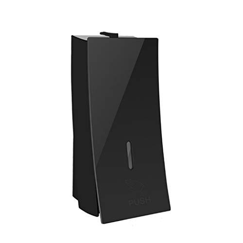 YIFEI2013-SHOP dispensador de jabón Dispensador de jabón Multifuncional Dispensador de jabón Manual de Pared Hotel Baño Cocina Champú Ducha Gel Caja Detergente Botella Soap Dispenser (Color : Black)