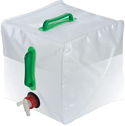 Folding bucket GCX- al aire libre camping bolsa de agua portátil 20LPVC lavado coche cubo emergencia cubo plástico botella de agua portátil
