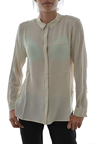 yaya Damen Bluse Gr. 42, beige
