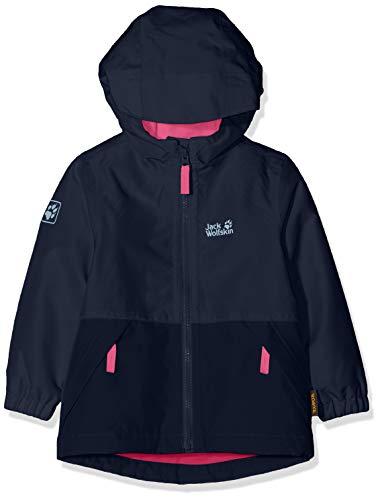Jack Wolfskin Kinder Snowy Days Jacket Kids Wetterschutzjacke, Midnight Blue, 140